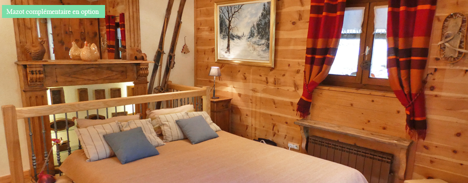 location chalet beaufortain Areches le galetas
